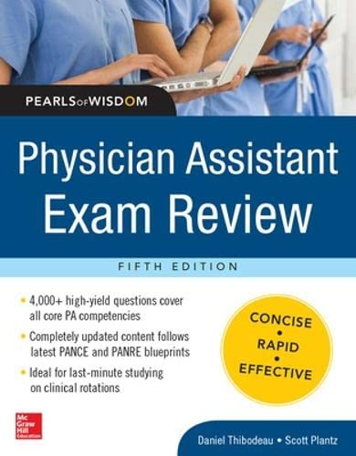9780071821360: Physician Assistant Exam Review, Pearls of Wisdom