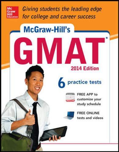 9780071821445: McGraw-Hill's GMAT, 2014 Edition