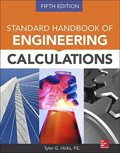 9780071821568: Standard Handbook of Engineering Calculations, Fifth Edition