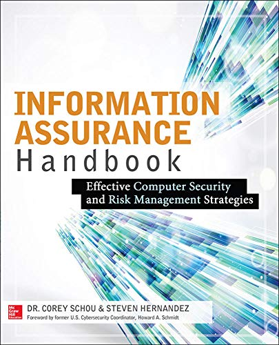 9780071821650: Information Assurance Handbook: Effective Computer Security and Risk Management Strategies (Networking & Comm - OMG)