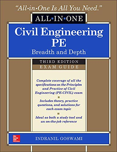 9780071821957: Civil Engineering All-In-One PE Exam Guide: Breadth and Depth, Third Edition