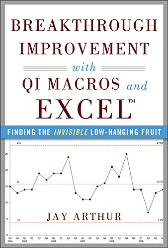 9780071822831: Breakthrough Improvement with QI Macros and Excel: Finding the Invisible Low-Hanging Fruit