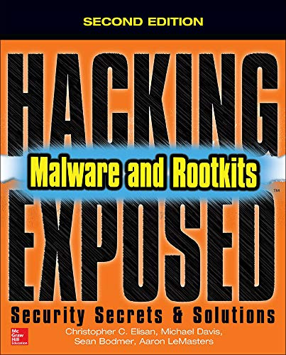 9780071823074: Hacking Exposed Malware & Rootkits: Security Secrets and Solutions