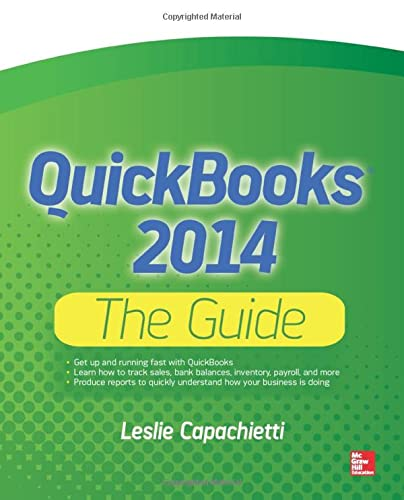 9780071823395: QuickBooks 2014 The Guide