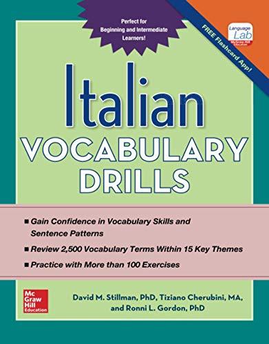 9780071823777: Italian Vocabulary Drills