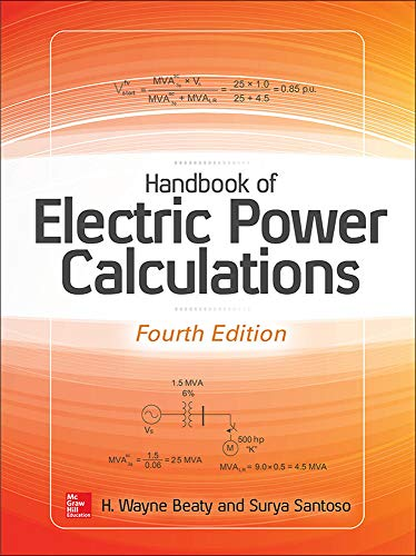 9780071823906: Handbook of Electric Power Calculations, Fourth Edition (Electronics)