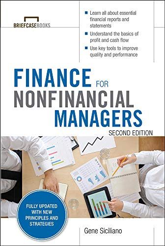 9780071824361: Finance for Nonfinancial Managers, Second Edition (Briefcase Books Series) (Briefcase Books (Paperback))