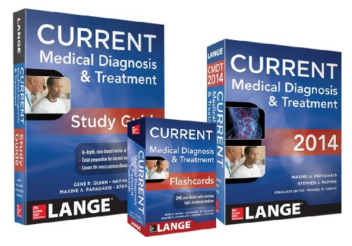 9780071824392: Current Medical Diagnosis & Treatment [With Flash Cards and Study Guide]