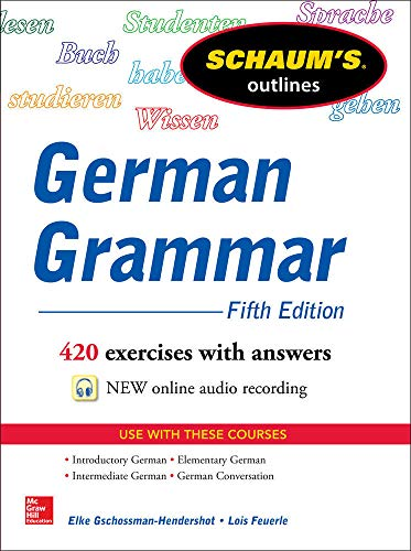 9780071824705: Schaum's Outline of German Grammar, 5th Edition (Schaum's Outline Series)