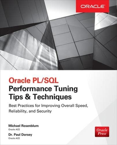 9780071824828: Oracle PL/SQL Performance Tuning Tips & Techniques (Database & ERP - OMG)