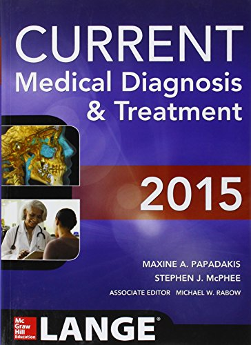 9780071824866: CURRENT Medical Diagnosis and Treatment 2015 (Lange)