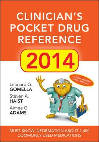 9780071824965: Clinicians Pocket Drug Reference 2014
