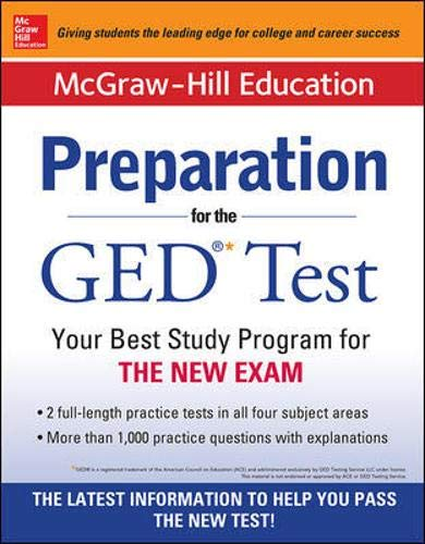 9780071824972: McGraw-Hill Education Preparation for the GED� Test