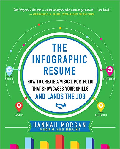 9780071825573: The Infographic Resume: How to Create a Visual Portfolio that Showcases Your Skills and Lands the Job