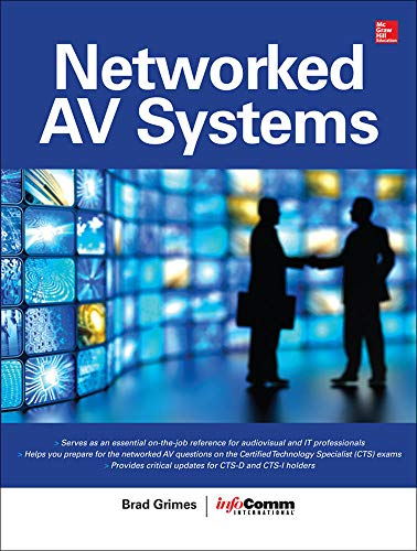 9780071825733: Networked Audiovisual Systems (Certification & Career - OMG)