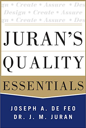 9780071825917: Juran's Quality Essentials: For Leaders