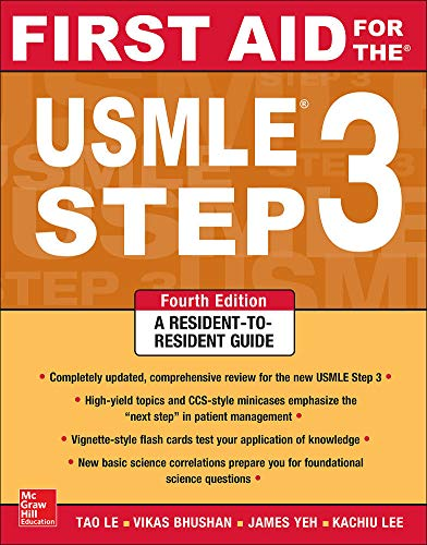 9780071825962: First Aid for the USMLE Step 3, Fourth Edition (First Aid USMLE)