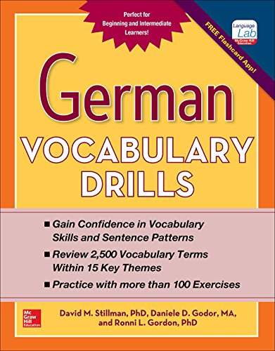 9780071826143: German Vocabulary Drills