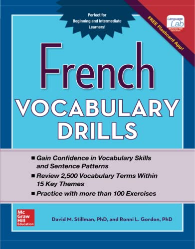 9780071826426: French Vocabulary Drills