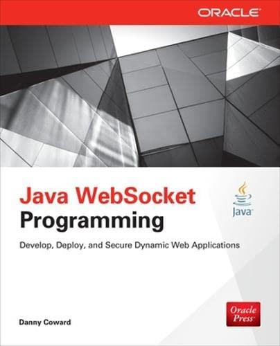 9780071827195: Java WebSocket Programming (Oracle Press)