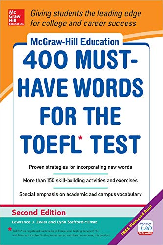 9780071827591: McGraw-Hill Education 400 Must-Have Words for the TOEFL, 2nd Edition