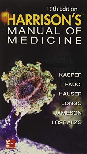 9780071828529: Harrisons Manual of Medicine, 19th Edition [Lingua inglese]