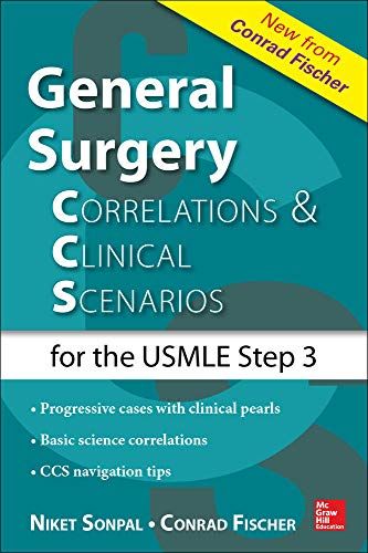 9780071828550: General Surgery: Correlations and Clinical Scenarios