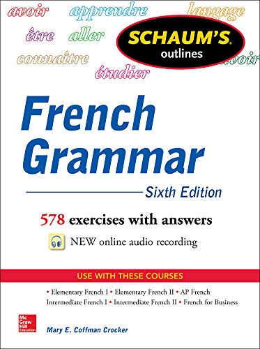 9780071828987: Schaum's Outline of French Grammar