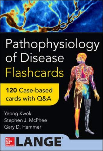 9780071829168: Pathophysiology of Disease: An Introduction to Clinical Medicine Flash Cards