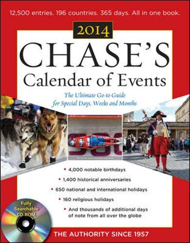 9780071829502: Chase's Calendar of Events 2014 with CD-ROM
