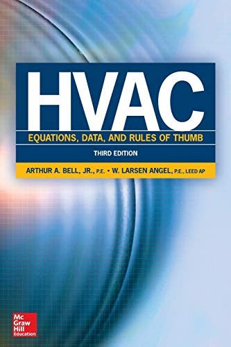 9780071829595: HVAC Equations, Data, and Rules of Thumb, Third Edition