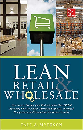 Lean Wholesale and Retail by Paul Myerson 2014 Hardcover