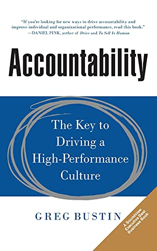 9780071831376: Accountability: The Key to Driving a High-Performance Culture