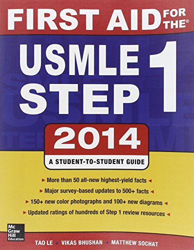 9780071831420: First aid for the USMLE. Step 1