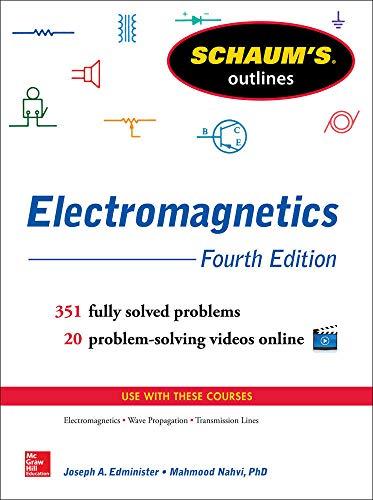 9780071831475: Schaum's Outline of Electromagnetics, 4th Edition (Schaum's Outlines)