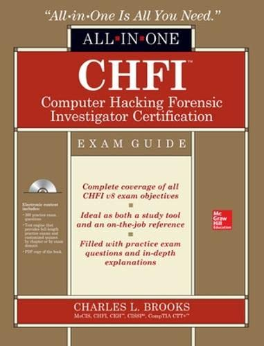 9780071831567: CHFI Computer Hacking Forensic Investigator All-in-One Exam