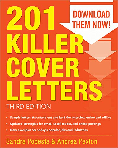 9780071831574: 201 Killer Cover Letters Third Edition