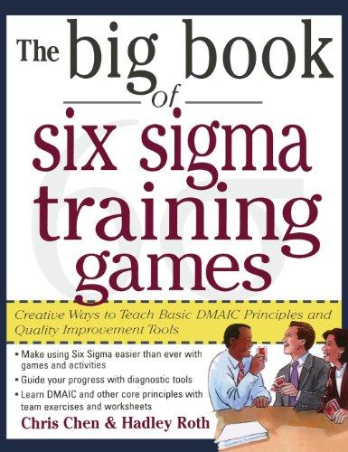 9780071831642: Big Book of 6 SIGMA Training Games Pro