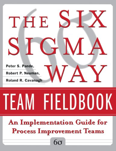 9780071831666: Six SIGMA Way Team Fieldbook