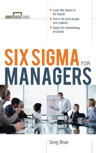 9780071831673: Six SIGMA for Managers (Briefcase Books (Hardcover))