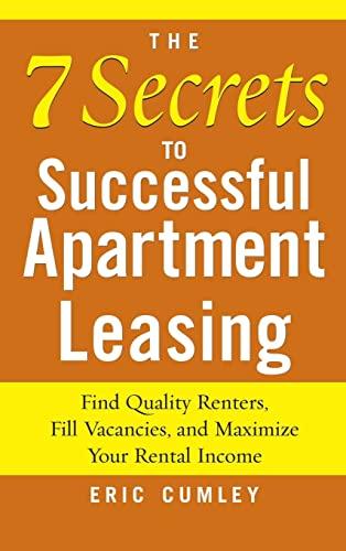 9780071831703: 7 Secrets to Successful Apartment Leasing