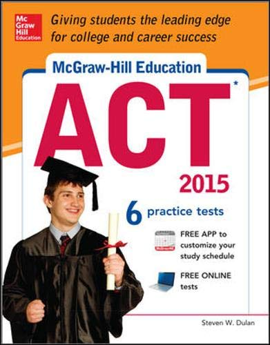 9780071831857: McGraw-Hill Education ACT, 2015 Edition