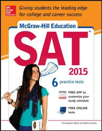 9780071831932: Mcgraw-Hill Education SAT 2015