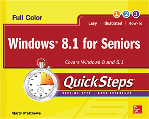 9780071832588: Windows 8.1 for Seniors QuickSteps