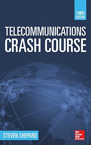 9780071832663: Telecommunications Crash Course, Third Edition