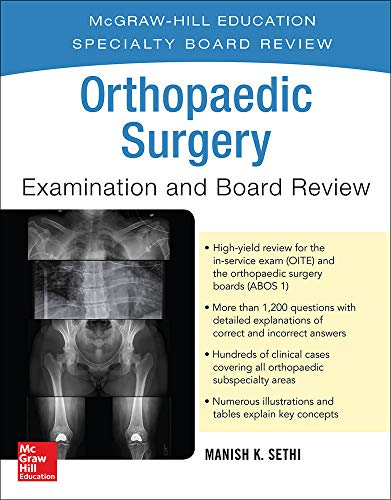 9780071832809: Orthopaedic Surgery Examination and Board Review