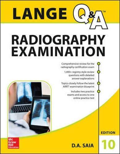 9780071833103: Lange Q&a Radiography Examination Edition