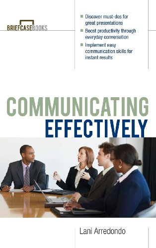 9780071833349: Communicating Effectively (Briefcase Books (Paperback))