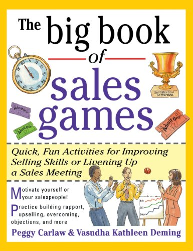 9780071833356: The Big Book of Sales Games