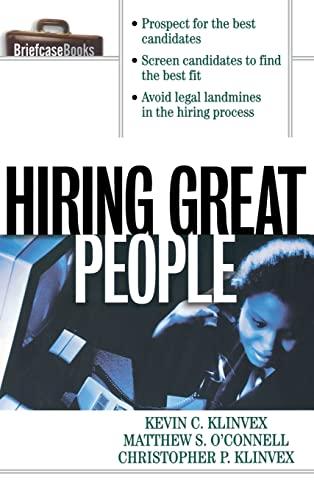 9780071833370: Hiring Great People